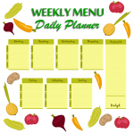 The Benefits of Planning Healthy Meals