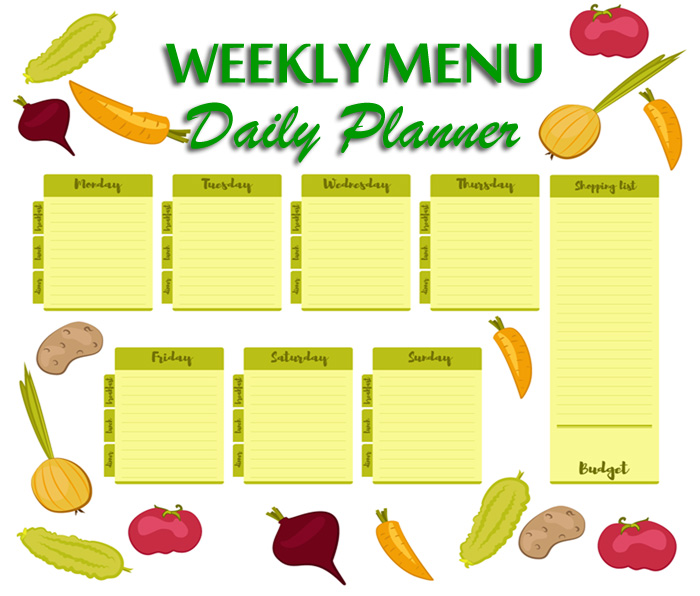 Planning Healthy Meals with a Menu Planner
